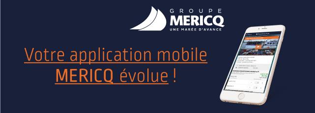 Nouvelle version de l'application Mericq
