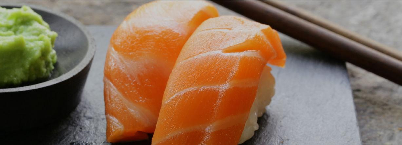 Sushi saumon par Mericq