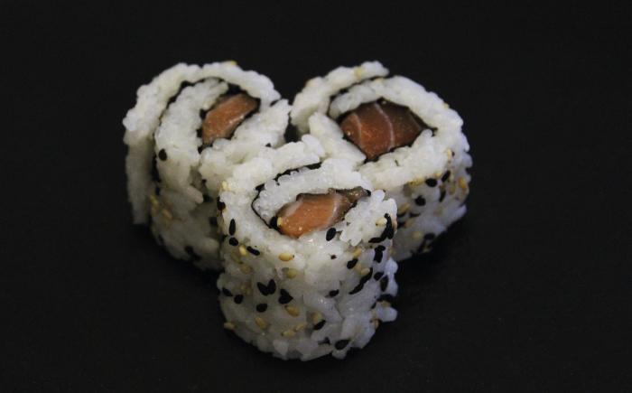 maki california au saumon par Mericq