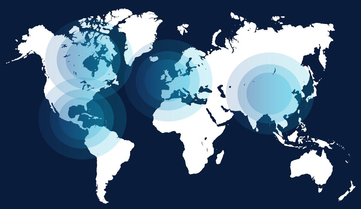 Présence du groupe Mericq dans le monde