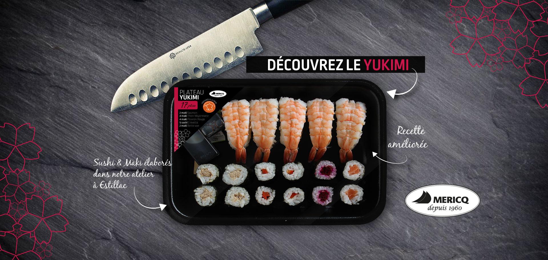 Nouvelle recette de sushi !