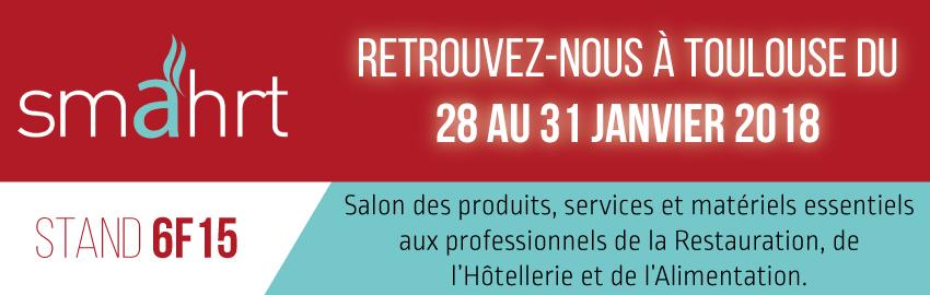 Retrouvez nous au salon Smahrt à Toulouse