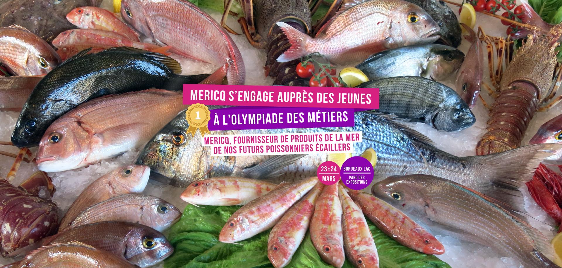 Olympiade des métiers poissonnerie