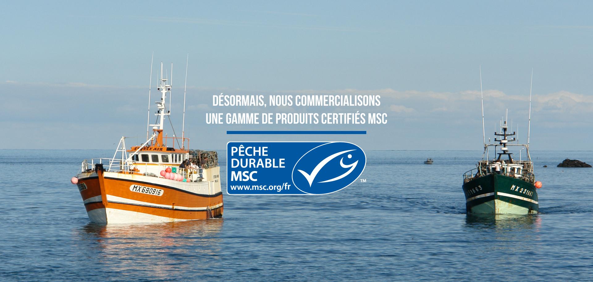 Mericq : certifié MSC