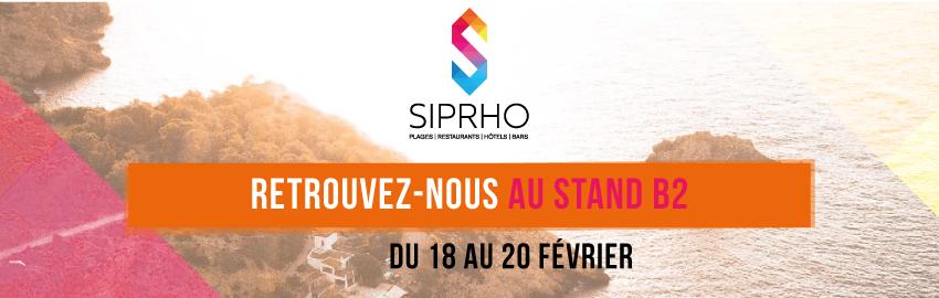 SIPRHO 2019 : Retrouvez-nous Stand B2 du 18 au 20 février !