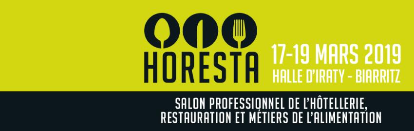 Salon d'HORESTA : Retrouvez nous à Biarritz du 17 au 19 mars 2019