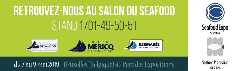 Seafood 2019 : Le Groupe Mericq au Seafood Expo Global