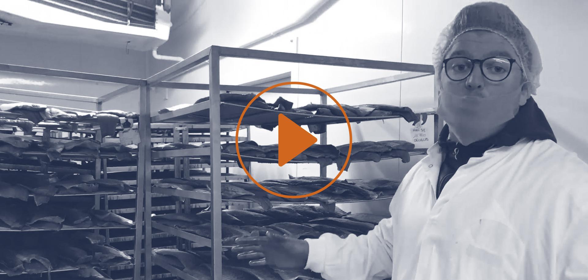 Atelier de fumaison saumon fumé mericq tradition
