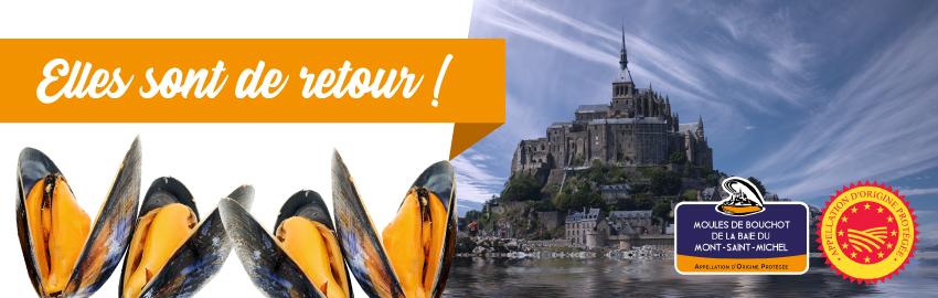 la moule de bouchot AOP Mont St Michel