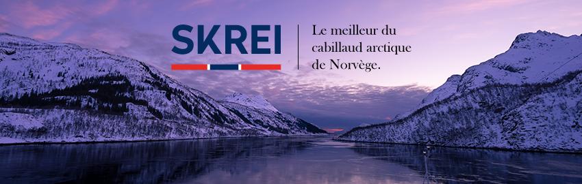 Le cabillaud Skrei de Norvège