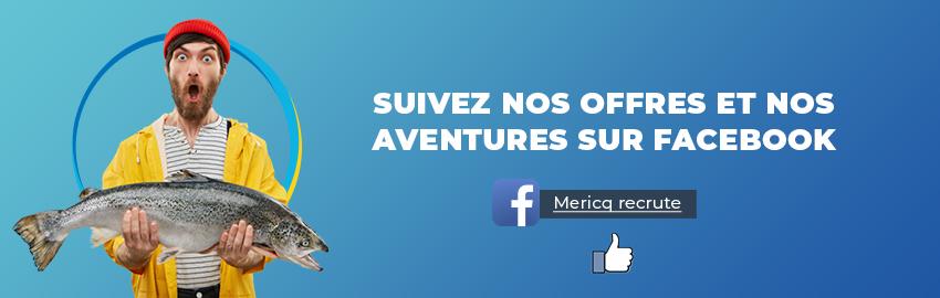 Mericq Recrute arrive sur Facebook